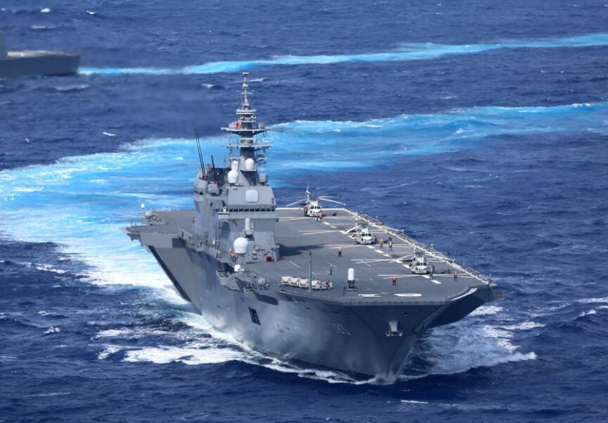 """日本""""出云""""号直升机驱逐舰又双叒叕"""""""