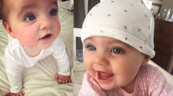 <strong>这个女宝宝因一双「超深邃的蓝眼睛」而在网路爆红!当看到她的父母之后,网</strong>